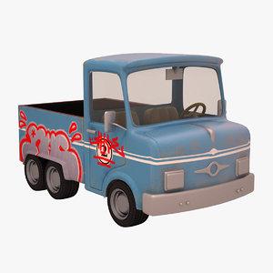 max truck cartoon