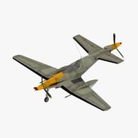 3d max secret dornier 420 fighter aircraft