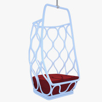 modern hanging chair 3ds