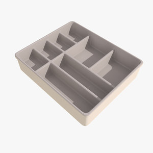 inset kitchen 3d model