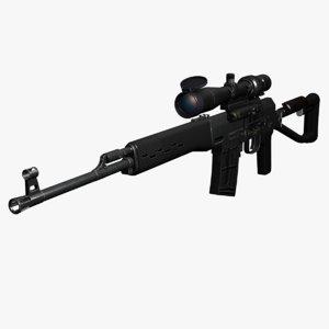 dragunov sniper rifle max