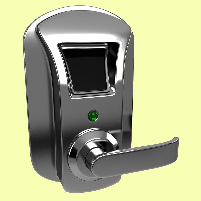 max fingerprint door lock