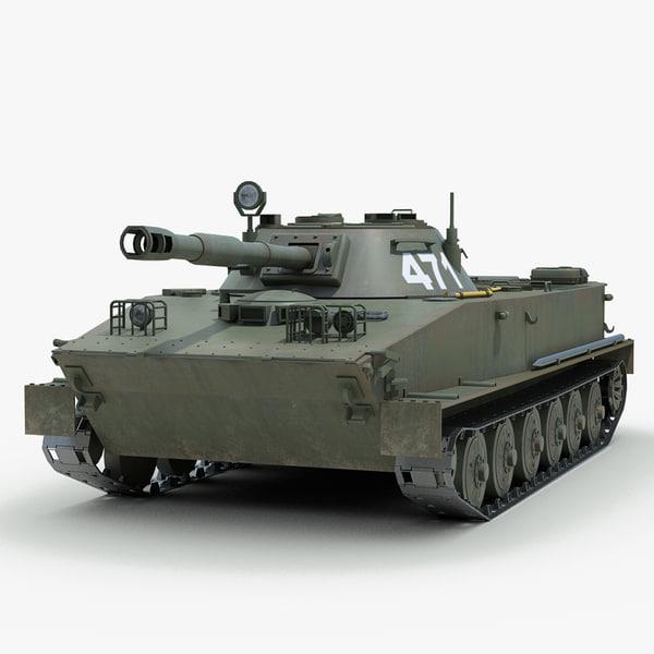 3d soviet light tank