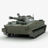 PT 76 Soviet Tank