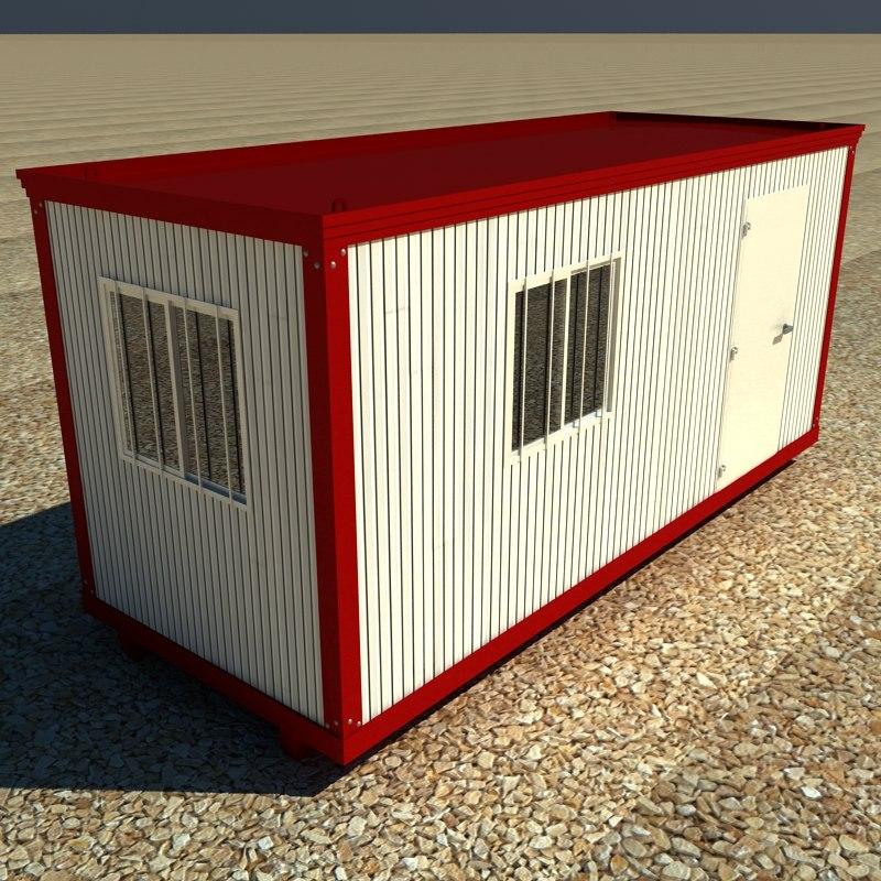 3d builder hut