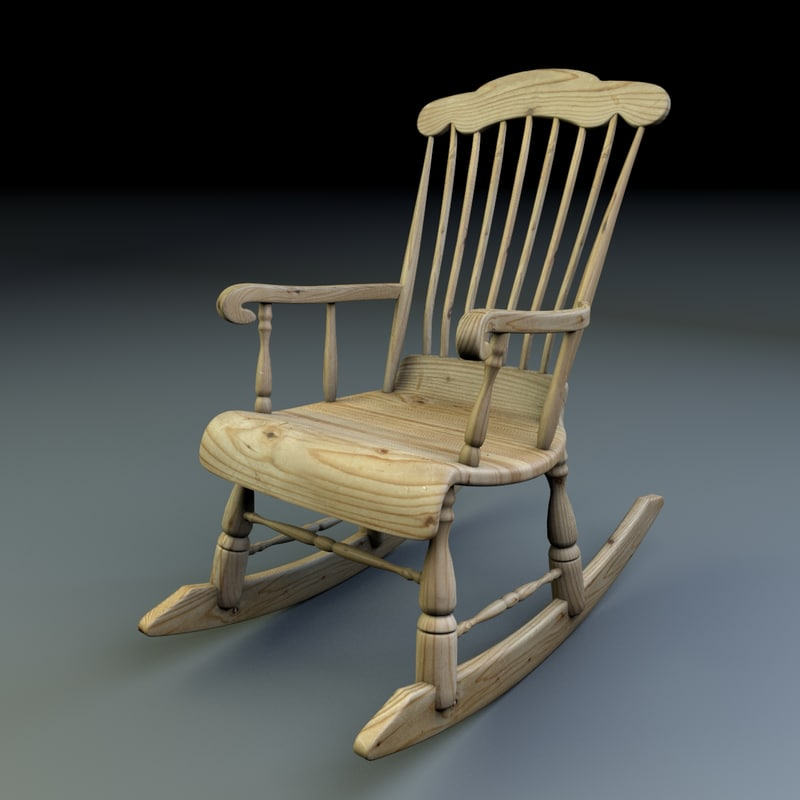 cinema4d rocking chair finnish
