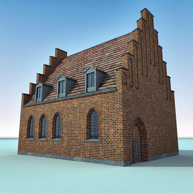 3d building denmark an