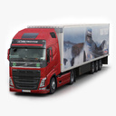 volvo FH 3D models