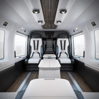 Mercedes-Benz Interior Helicopter