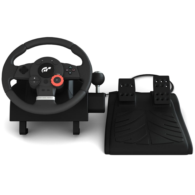 usb steering wheel 3d model