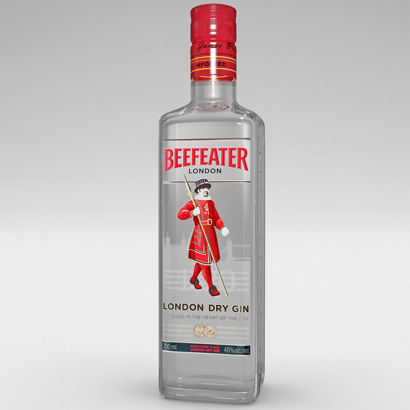 beefeater bottle gin max