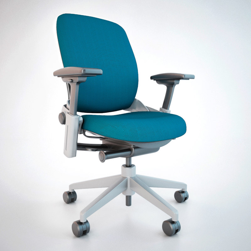 3dsmax Office Chairs Steelcase Leap