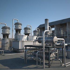 3d max refineries