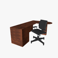 Chair & Desk