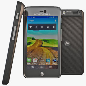 3d model motorola atrix hd