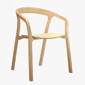 3d herman miller said chair
