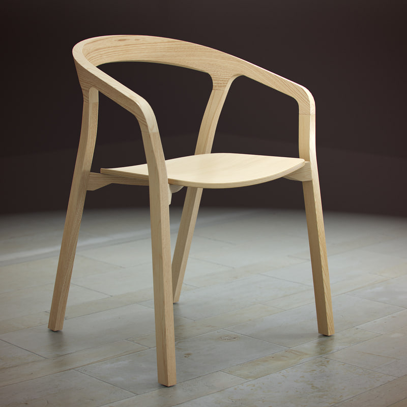3d herman miller said chair