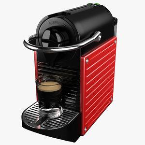 3d coffeemaker nespresso pixie krups