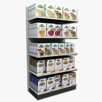 Cereal Shelving