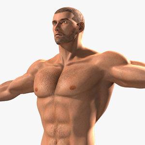 muscular male lwo