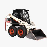3d bobcat loader model