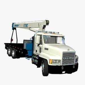 lwo mack ch crane truck