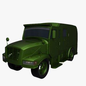 3d truck money model