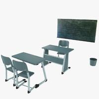 3d model class set