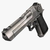 3d desert eagle gun s model