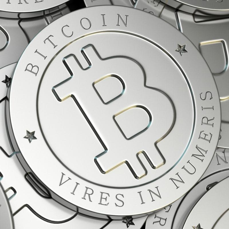bitcoin coin 3d 3ds