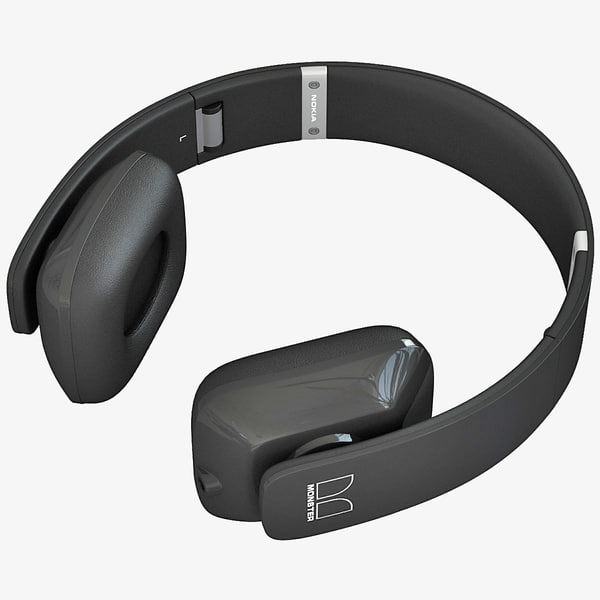 nokia purity hd headset 3d c4d