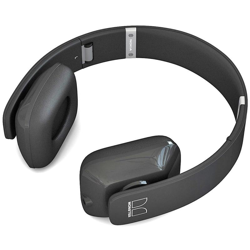 nokia purity hd headset 3d c4d
