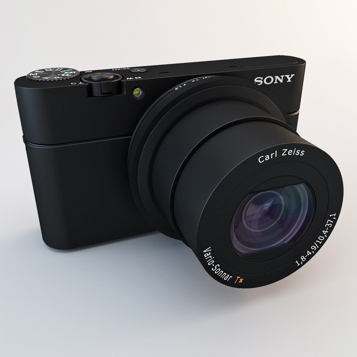 3d model sony dsc-rx100 camera