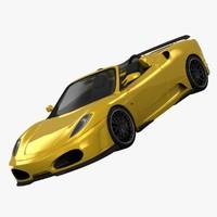 ferrari f430 cabriolet hamann 3d 3ds