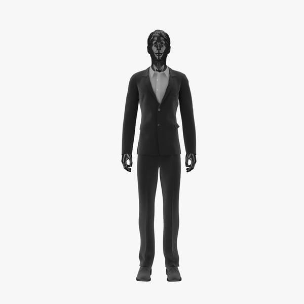 3d showroom mannequin male 017