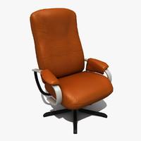 chair modeled 3d model