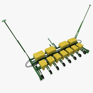 sowing machine 3d model