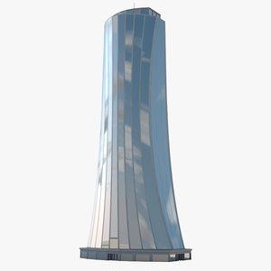 max skyscraper modeled