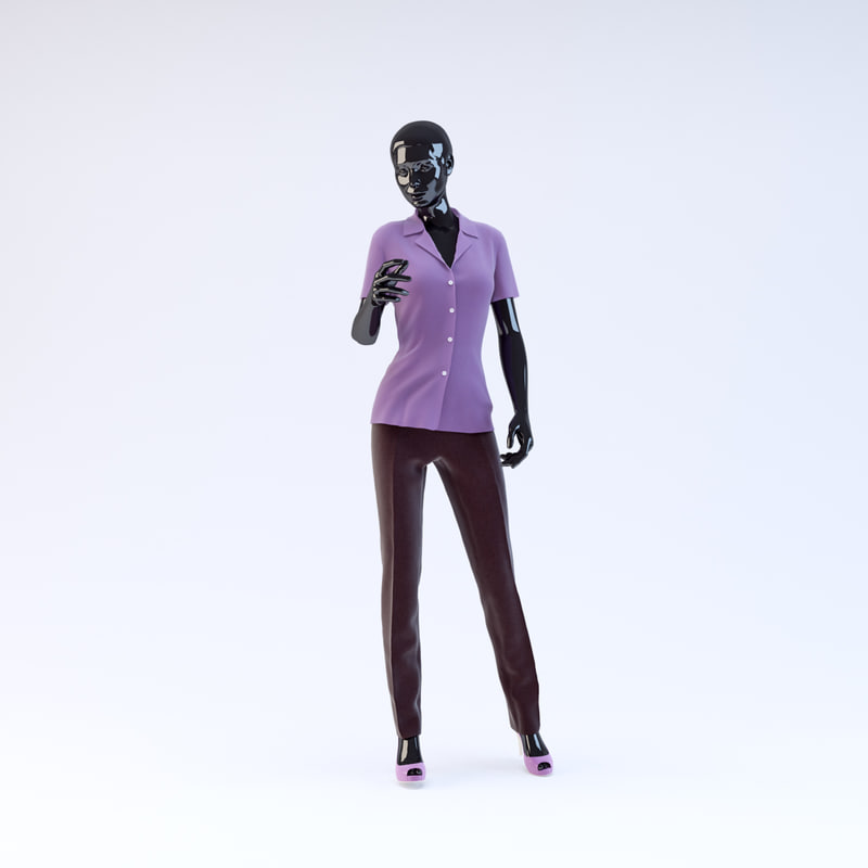 3d showroom mannequin 09