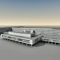 Modern Building 028