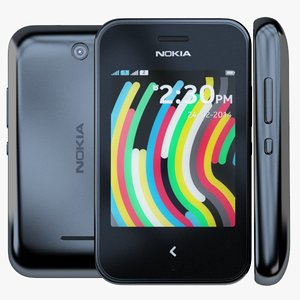 3ds nokia asha 230 black