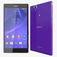 3d realistic sony xperia t model