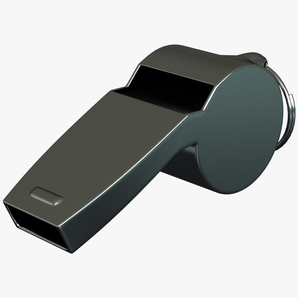3d model referees whistle