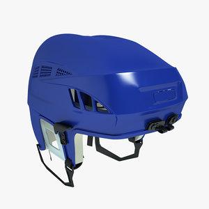 ice hockey helm 3d model