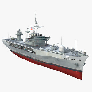 3d uss blue ridge lcc-19