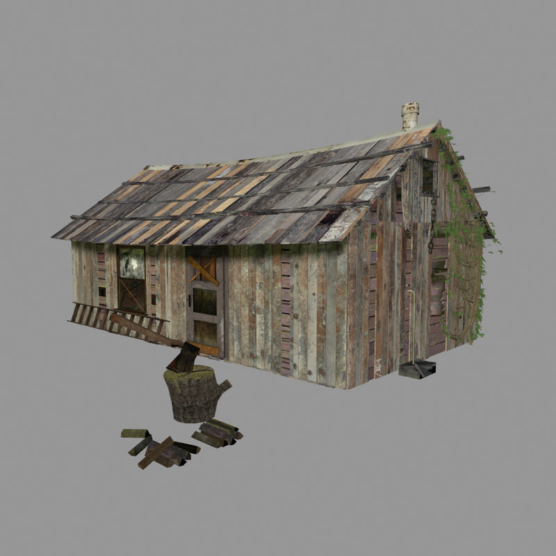 shed tool 3d model