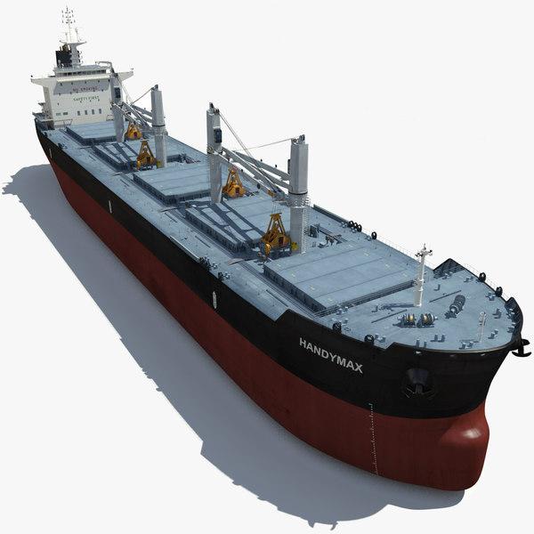 geared handymax ship