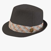 3dsmax men s hat