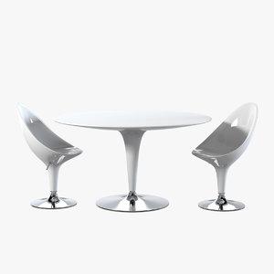 magis bombo table chair max