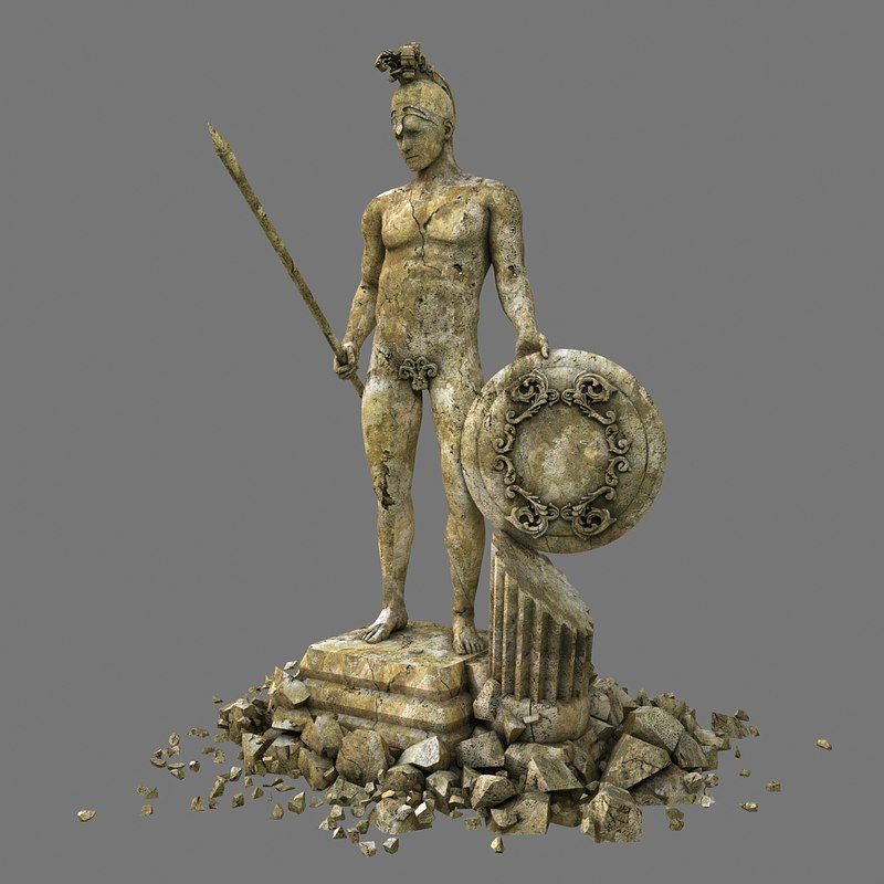 ares statue max